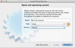 My First Lubuntu